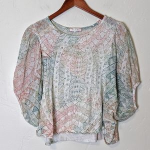 Anthropologie Briony Top